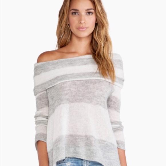 Free People lulu cowl neck alpaca blend sweater